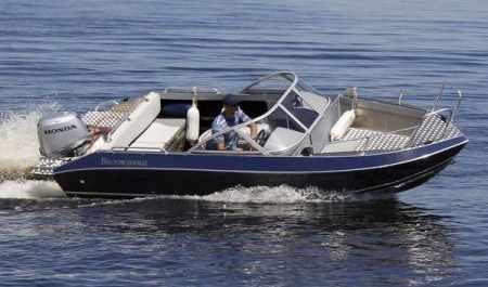 Лодка «Волжанка 49 Фиш»