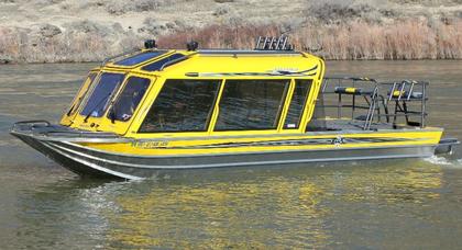 Custom jet boat