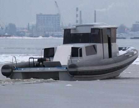 Оформление кормы катера «БЛ-1200»