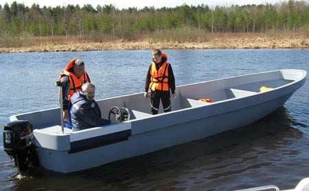 Лодка «Камчатка». Первые испытания
