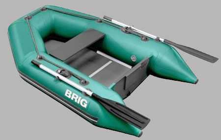 Надувная ПВХ лодка «Dingo D200» со сплошным жестким настилом
