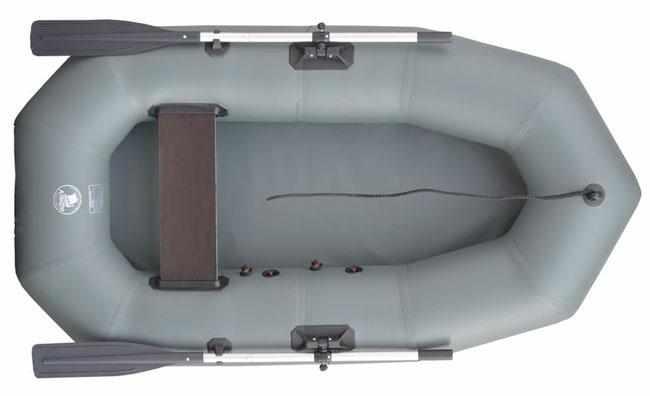 Компоновка надувной лодки «Альфа 21»