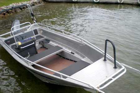Компоновка лодки Мастер 500