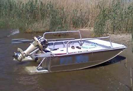 Лодка из носовой части