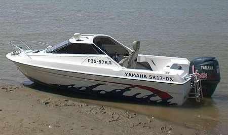 Лодка Yamaha SR-17 - прародитель мотолодки Бриз-17