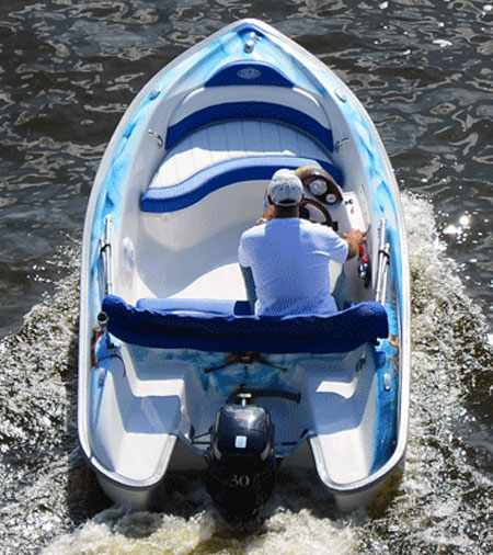 Компоновка лодки «Москит 364»