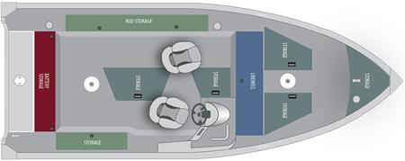 Лодка «Alumacraft Escape 165 CS»