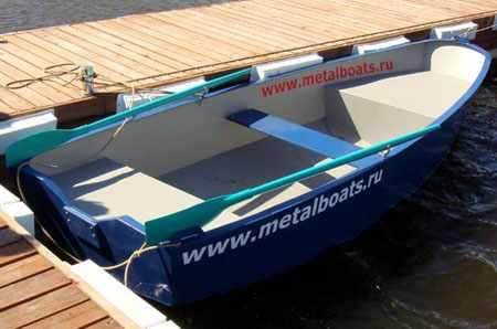 Компоновка лодки «Iron Boat 430»