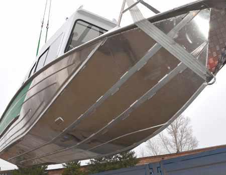 Днище лодки Рекорд 750
