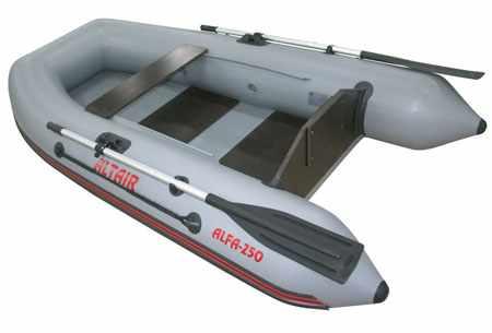 Конструкция лодки «Alfa 250»