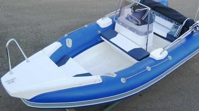 Компоновка лодки-РИБ «Skyboat 460 R»