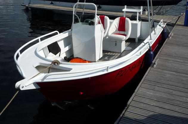 Кокпит лодки «Sea Pride 540»