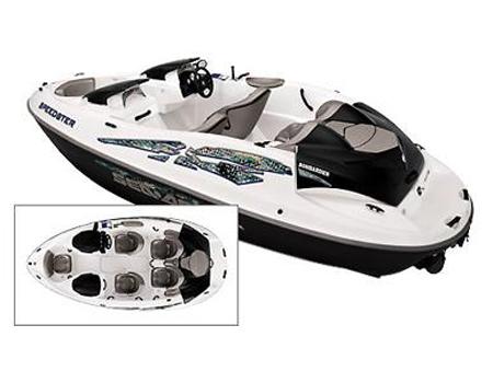 Катер «Sea-Doo Speedster 2000» сверху