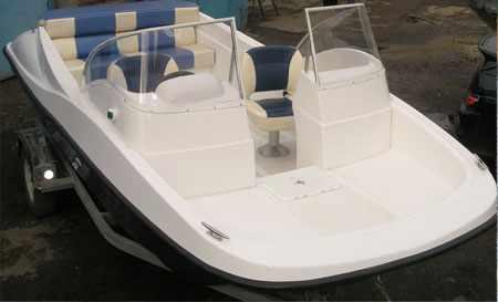 Компоновка лодки TriMarin 500