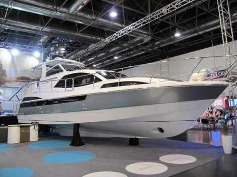 Broom 430. Выставка катеров Düsseldorf Boat Show 2014
