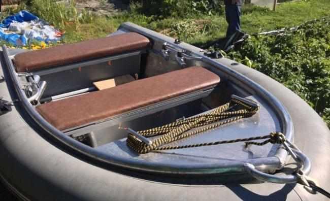 Лодка «Абрис 350» с ПВХ бортами