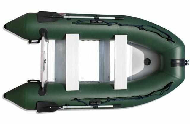 Комплектация лодки «Jet Force 330 AL» с алюминиевым пайолом