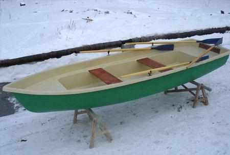 Компоновка лодки «Тортилла 5»