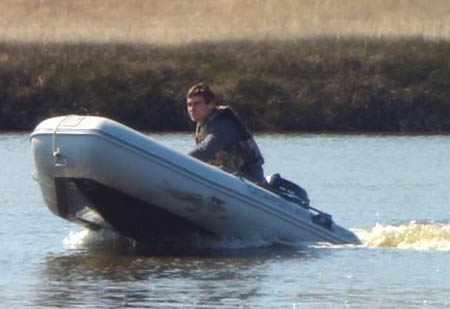 Козление лодки «Silverado 30F»