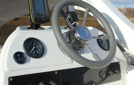 Консоль лодки Альбатрос 550