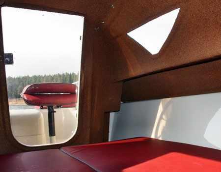 Каюта катера «Vigor Jet 480 S WA»