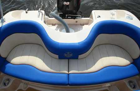 Кормовой диван модификации Энигма 460 BR