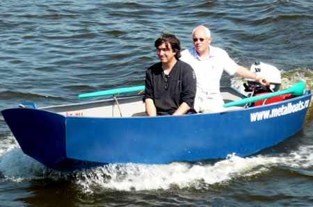 Корпус лодки «Iron Boat 430»