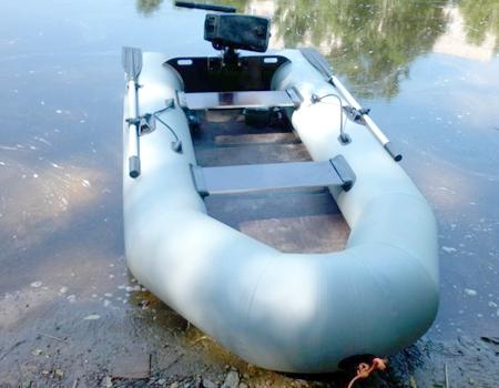 Надувная ПВХ лодка «Фрегат 280 Е»
