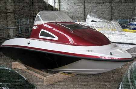 Лодка Catran 460 Lux с каютой