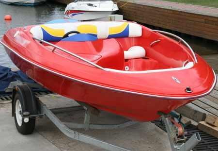Конструкция катера «FUNKY Sport Jet»