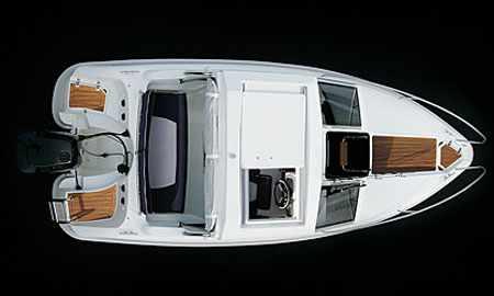 Версия лодки с жесткой полурубкой «MV-Marin 5400 HT»