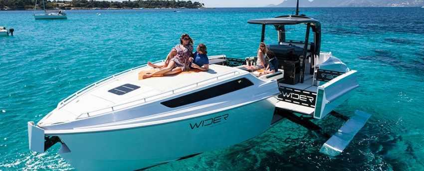 Яхта-трансформер Wider 42