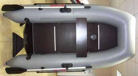 Полная фанерная палуба надувной лодки «Alfa 250»