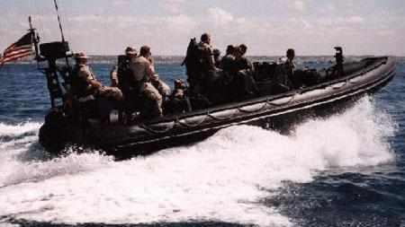 Крупный RIB на вооружении армии США