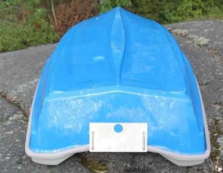 Днище лодки «DeltaMarine 310»