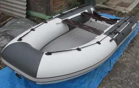 Компоновка надувной лодки «Aquilon 390»