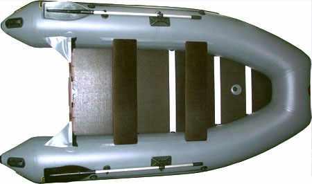 Конструкция лодки «Норвик 340»