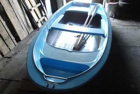 Компоновка лодки Лагуна и носовой рундук