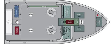 Лодка «Alumacraft Competitor 165 Sport»