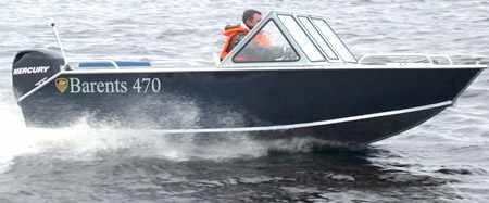 Моторная лодка «Barents 470 PRO»