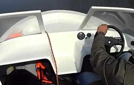Передняя панель лодки «Чайка Т»