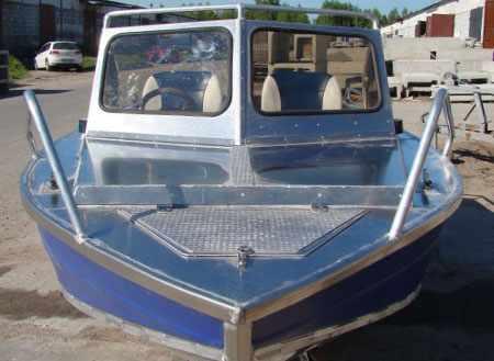 Автокомпоновка лодки Фишлайн 470