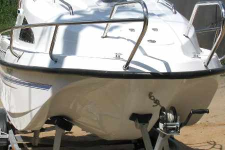 Обводы днища лодки «Тритон К-500»