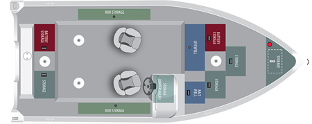 Лодка «Alumacraft Classic 165 CS»