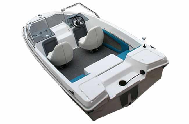 Лодка «Marlin» с двойной консолью