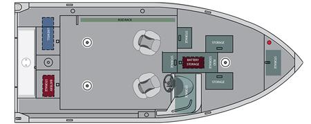 Лодка «Alumacraft Competitor 165 CS»