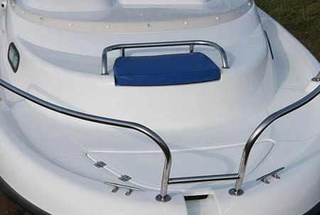Палуба лодки Бестер 500 Р