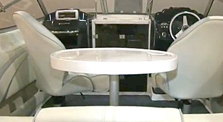 Кокпит катера Velvette 20