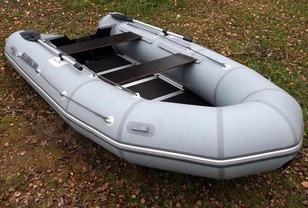 Компоновка надувной лодки «Сибирь 3500»