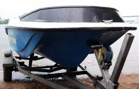 Обводы днища лодки «Dancer 400»